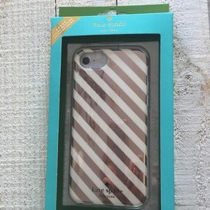 NWT Kate Spade iPhone 7. 6 or 6s case